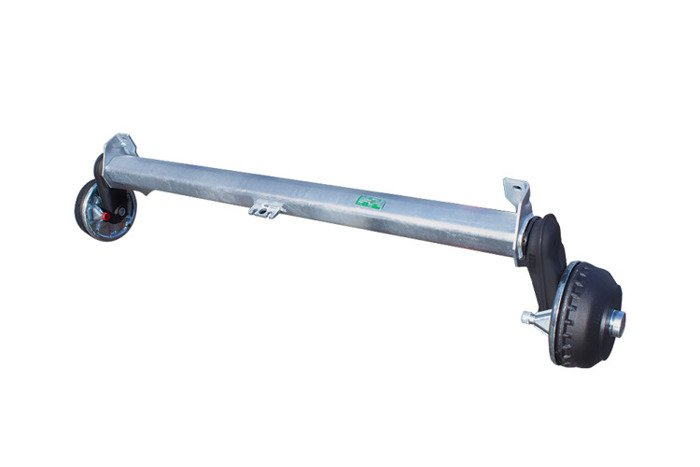 Braked axle for trailers AL-KO 1260 mm 1350 kg 5x112